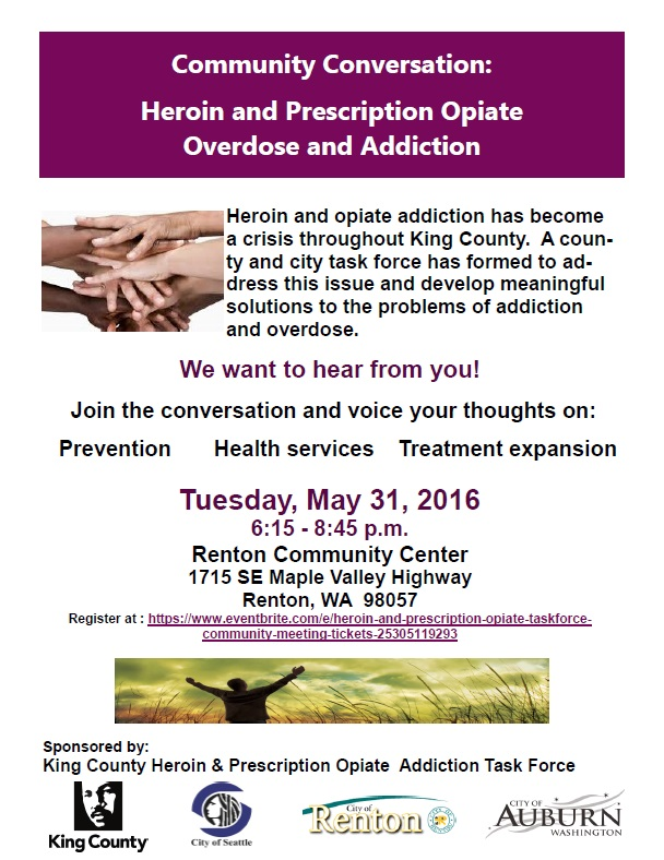 King County Addiction Task Force Meeting